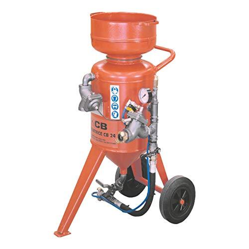 Elmag CB 24-V2 - Sandstrahlgerät Modell: Ohne Start-Stop Fernbedienung