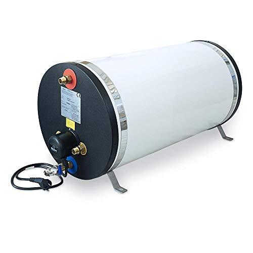 Albin Pump Durchlauferhitzer Edelstahl Warmwasser Boiler 60 L elektrisch