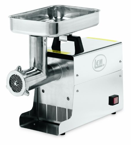 LEM .75 HP Stainless Steel Electric Meat...