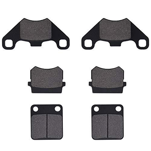 Front & Rear Brake Pads Set for Hammerhead Twister 150 Tomberlin 150cc Buggy TrailMaster 150 XRS Go Kart