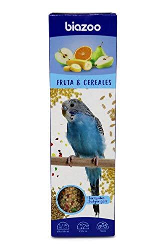 biozoo - Barritas de Fruta & Cereales para Periquitos - Pack 5 Unidades ✅