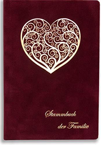 Stammbuch Bordeaux Wona Herz Stammbuch der Familie