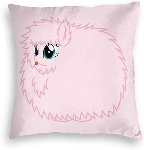 YPPDPP Fluffle Puff Stare Velvet kissenhülle Pillow Cases Kissenbezug Throw Pillow Cover