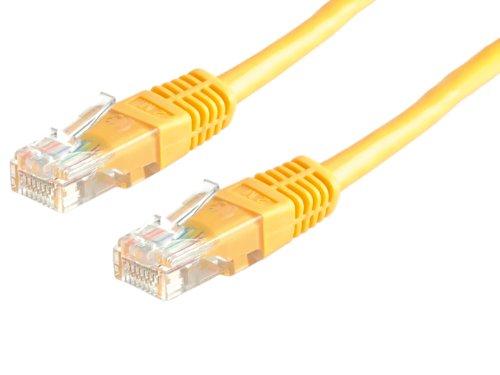 Value UTP Kabel Kat6, gelb, 7m