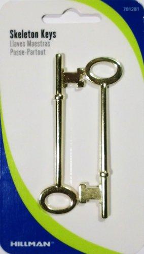 Skeleton Keys, 2 Pack