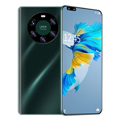 LQIAN Muestra MATE40PRO + Cámara FHD 5 De 7,2 Pulgadas + Pantalla 8GB + 256GB Android 10 Smartphone GPS 3 Reemplazo De Pantalla Digitalizador de la Pantalla táctil (Color : UK Plug Green)