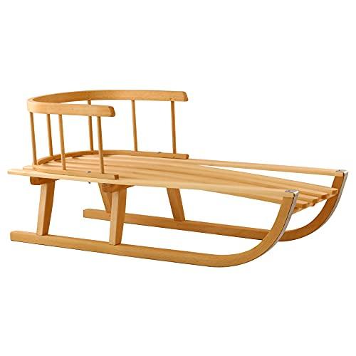 Hammel Slitta in legno per l'inverno con cordicella stabile e sicura