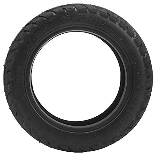 Wosune Neumático de Scooter eléctrico, 8x2.00‑5 Rueda de vacío Rueda sin cámara de vacío Neumático de vacío Neumático de Goma para Scooter eléctrico
