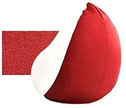 Canapé lit LHY- Penguin Lazy Sofa Living Room Shallow Bean Bag Seul Sac créatif Coton Bean Chaise Chambre Tatami Balcon Bean Bag Doux (Color : Red)