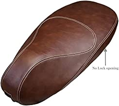 Vespa Sprint / Primavera Scooter Cheeky Seats Whiskey Brown Seat Cover