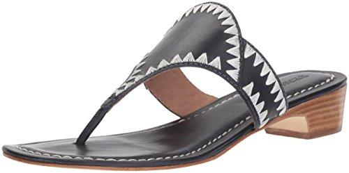 Bernardo Women's GABI Wedge Sandal, navy antique calf, 9M M US