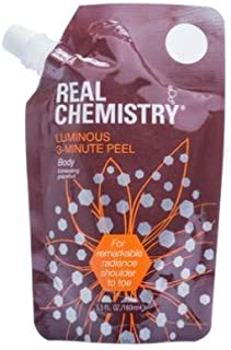 Real Chemistry Luminous 3 Minute Peel Body, 5.6 oz
