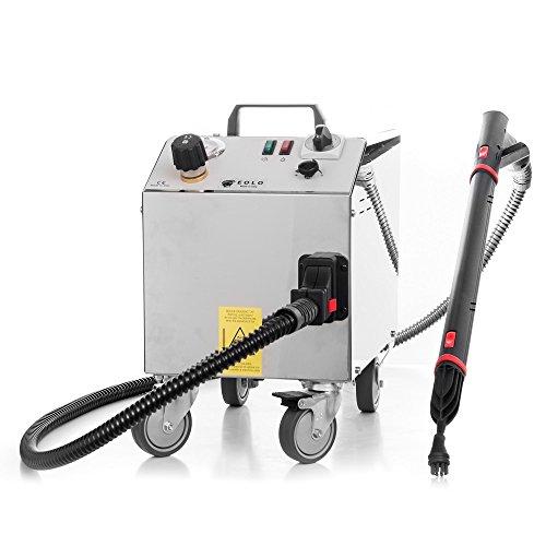 EOLO LP01 RA Professioneller Dampfreiniger mit 6 Bar Trockendampf und Auto-Refill zur Reinigung und Desinfektion