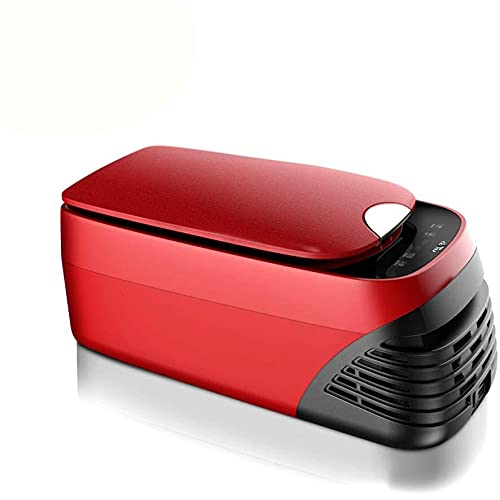 XIXIDIAN Frigorífico portátil de 8 litros 12V / 24V Calentador de refrigerador eléctrico, Panel LCD Digital, para Conducir, Viajar, Pescar, al Aire Libre o Uso doméstico