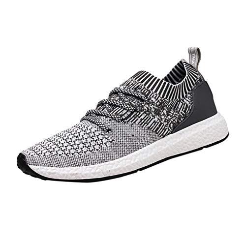 HEETEY Herren Damen Sportschuhe Laufschuhe, Atmungsaktive Turnschuhe für Herren Mode große Größe beiläufige Schuhe Laufschuhe Sportschuhe Fitness Schuhe