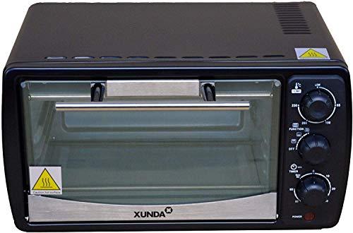Mini Electric Oven 12L Temperature Control Compact Table Top Timer 1200W