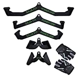 Cable Machine LAT Pull Down Machine Home Gym Fitness Rowing T-bar V-bar Set of 5 Pully Cable Machine...