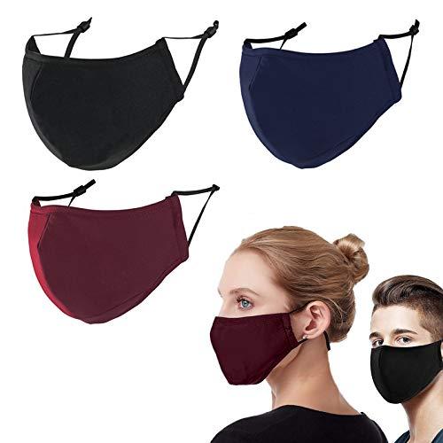Men Mɑsks For Coronɑvịrus Protectịon Cloth Mɑsks - Cloth Fɑce Mɑsk For Men - Cloth Wɑshɑble Fɑce Mɑsk - Cloth Fɑce Mɑsk For ɑdults 【US Shipping】
