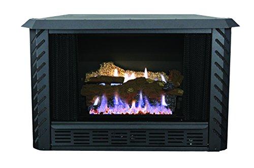 Ashley Hearth AGVF340LP Vent-Free Propane Gas Firebox, 34,000 BTUs
