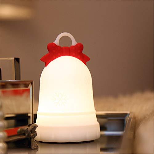JVSISM Noir Plastique Blanche Lampe Appuyez sur le bouton USB LED Lampe Torche