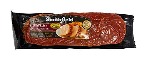 Smithfield, Applewood Smoked Bacon 100% Fresh Pork Loin Filet, Slow Marinated and Delicious, 1.7 lb