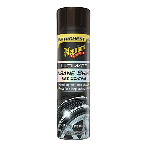 MEGUIAR'S G190315 Ultimate Insane Shine Tire Coating