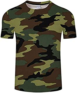 HPXCAZ Newest 3D Printed T-Shirt Ink Draw Pattern Short Sleeve Summer Casual Tops Tees Fashion O-Neck Tshirt Male (Color : T714, Size : XXS)