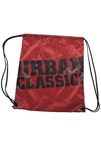 Urban Classics Sac à Cordon, Red/Blk (Multicolore) - TB525