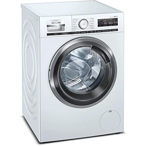 Siemens WM16XMH9GB iQ500 9kg 1600rpm Freestanding Washing Machine With Home Connect WiFi Control - White