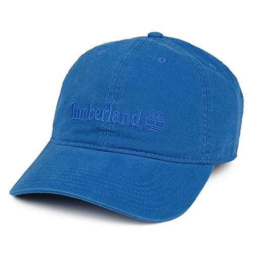 Timberland Embroidered Logo Baseball Cap - Leuchtend Blau - Einheitsgröße