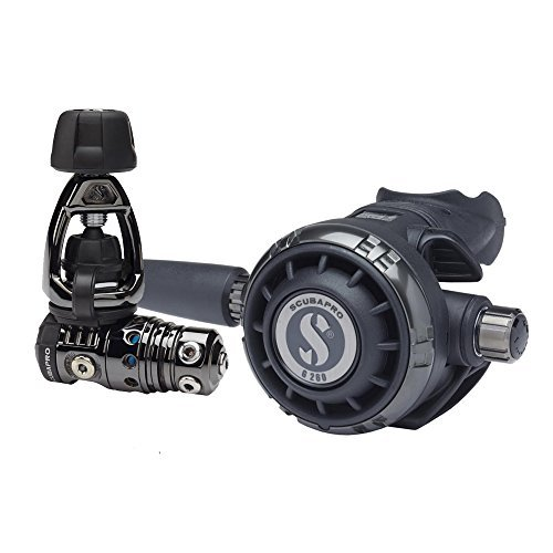 ScubaPro MK25 EVO/G260 Black Tech Regulator by Scubapro