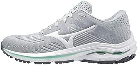 Mizuno Women's Wave Inspire 17 Running Shoe, Harbor Mist-White, 9
