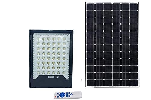 Faro led solare 400W luce fredda proiettore led rgb indicatore carica esterno