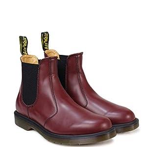 [ドクターマーチン] CHELSEA BOOT R11853600 サイドゴア 2976 チェルシー ブーツ チェリーレッド UK4(約22.5~23.0cm) [並行輸入品]