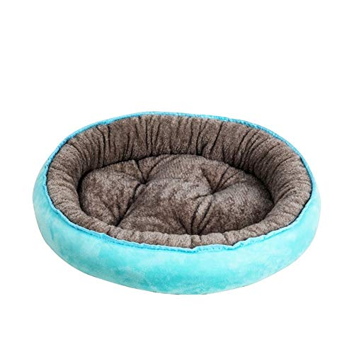Yuhualiyi123 Dog Bed Warming Kennel Washable Pet Bed Comfy Plush Dog Bed Cushion Nonslip Bottom Pet Nest Large Small Dog Pet Nest (Color : A, Size : XL)