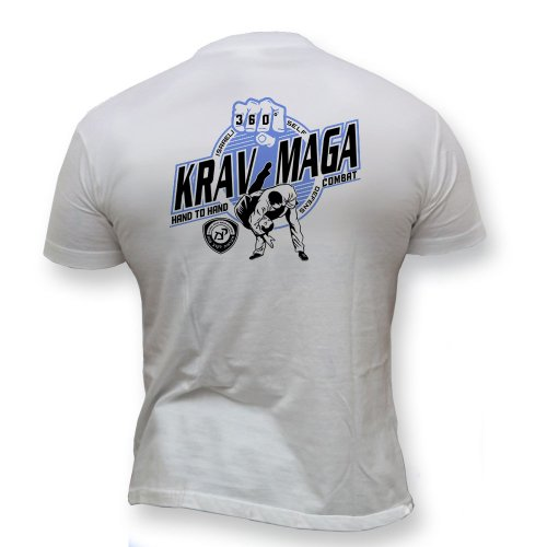 Dirty Ray Kampfsport Krav Maga Combat System Herren Kurzarm T-Shirt K55 (L)