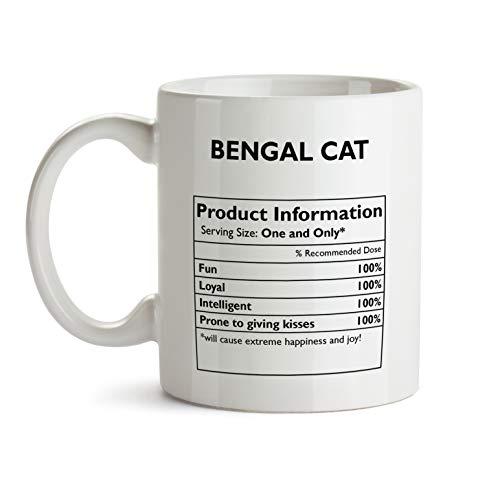Funny Bengal Cat Mug -...
