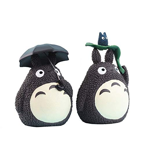 Sparschwein,Spardose,Sparbüchse,Geburtstag,Kreative Totoro Sparbüchse Kinder Sparschwein Kinderspielzeug Geschenk Anime Craft Studio Ghibli Miyazaki Hayao Puppenschachtel 2St
