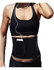 XDSP Midjetränare trimmer, bantning midjeformare kroppsstöd svett midjetränare neopren bantning bälte justerbar magfettförbrännare underkläder band kroppsformare
