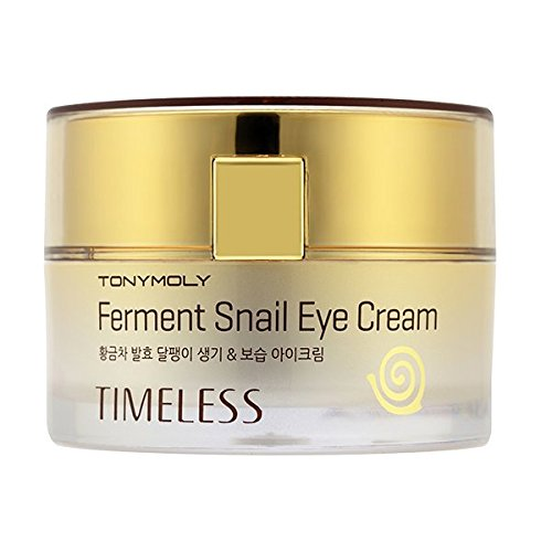 TONYMOLY Timeless Ferment Snail Eye Cream, 1.76 oz