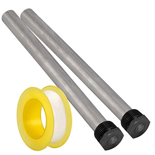 Kohree RV Water Heaters Magnesium Anode Rod Kit, Hot Water Heater Protection with Rope for Suburban and Mor-Flo Water Heaters Tank-3/4