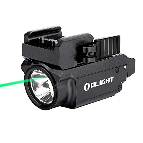 OLIGHT Baldr Mini 600 Lumens Magnetic USB Rechargeable Weaponlight with Green Beam and White LED...
