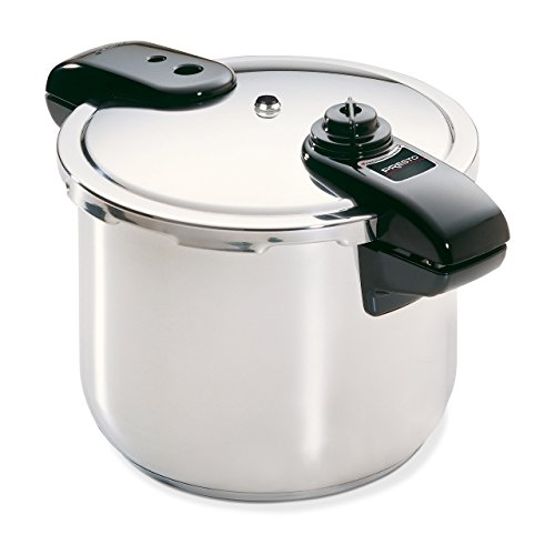 Presto 01370 8-Quart Stainless Steel Pressure Cooker (Renewed)
