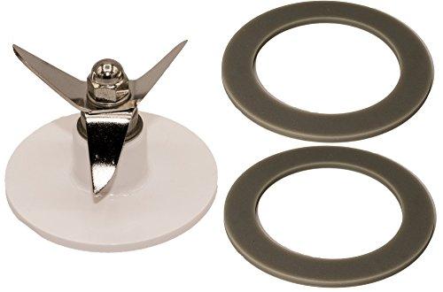 Blendin Lame de rechange SPB-456-2 pour mixeur avec 2 joints compatible avec Cuisinart SPB-562-3, SPB-7