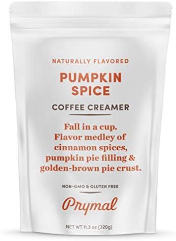 PRYMAL Pumpkin Spice Coffee Creamer Keto Non Dairy Sugar Free 100 Natural Non Refrigerated Powder product image