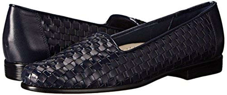 空洞熟読する相手[Trotters] Womens Liz Leather Closed Toe Loafers [並行輸入品]