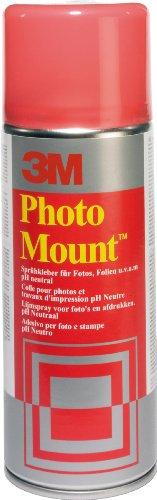 3M PhotoMount - Sprühkleber für schnelle & dauerhafte Verbindungen , 400 ml/260g, dauerhaft klebend