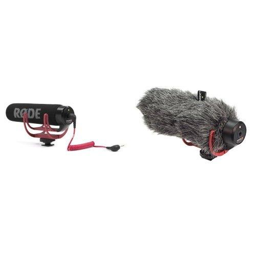 Rode VidMic Go VideoMic Go On-Kamera Mikrofon inkl. Rycote Lyre Halterung + Rode 400820120 DeadCat GO Mikrofon Adapter Bundle