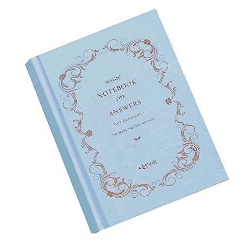 Lorsoul Notebook voor antwoord Het boek van antwoorden 208 vellen A6 Hard Cover Editor Personal Journal Dispel Puzzel