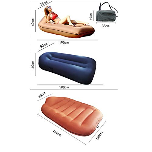 Air Sofa Double Mattress Inflatable Bed Outdoor Inflatable Bed Amphibious (Purchase Small Or Large Free 200 * 140cm Moisture-proof Cushion)